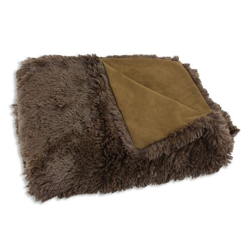Chooty & Co Shaggy Chocolate-Passion Faux Suede
