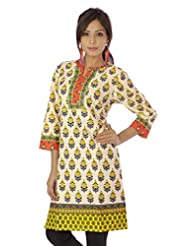 Shopping Rajasthan Exclusive Pure Cotton Handloom Handweaved Block Print Design Kurti Top - B00PHBZ47G