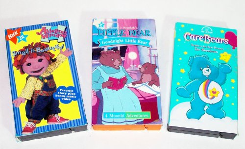 A Nick Jr and Care Bears Video Collection (3pk):goodnight