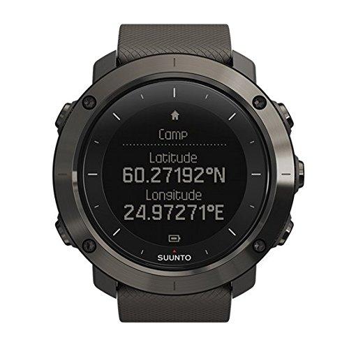 Suunto Traverse - sport watches (Stainless steel, 128 x 128 pixels, Graphite, Silicone)