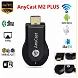 Apple Iphone 5c Compatible Certified HDMI Dongle Miracast/ Any Cast HDMI Dongle Wireless Media Streame Android...