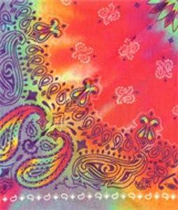 Doggie Skins Bandana Tie Dye Paisley Print One Size [Misc.]