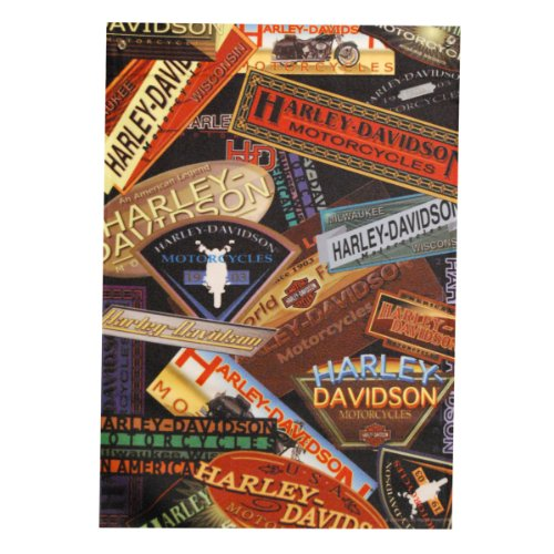 HD Harley-Davidson Logo Collage Garden Flag