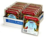 Suet Songbird Very Berry Cake, 16 Pack
