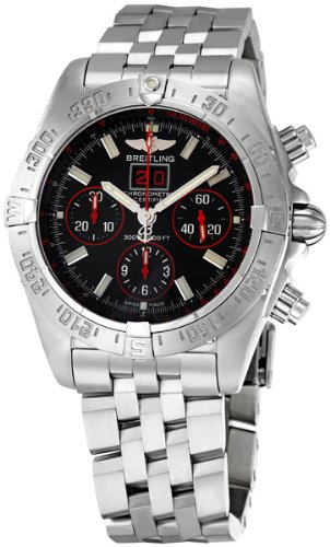 Breitling Men's BTA44359T8-BA58SS Blackbird Chronograph Watch