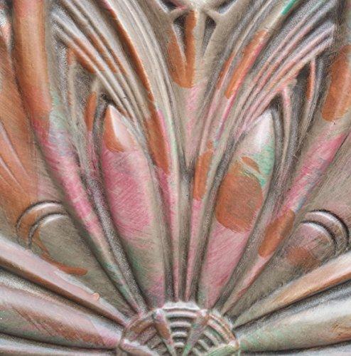 PL10Finitions imitation ancien plafond Panneaux muraux décoration carrelage 3D Relief Café Pub Shop Art 10pieces/Lot