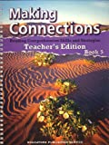 img - for Making Connections-Reading Comprehension Skills and Strategies, Book 5 (Teacher's Edition) (Making Connections) book / textbook / text book