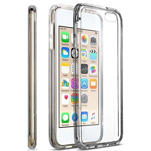MXx iPod Touch 5th Generation Clear Case With Intergraded Shock Absorbing Soft TPU Bumper. (Ipod Touch 5 Bumper Case compare prices)