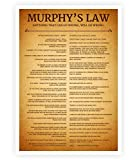 Lab No. 4 Murphy's Law Poster Size A3 (16.5