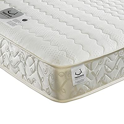 Happy Beds Membound Micro Quilted Bonnell Spring Memory Foam Mattress