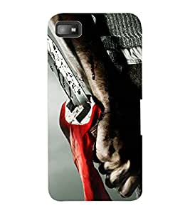 ColourCraft Scary Design Back Case Cover for BLACKBERRY Z10
