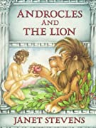 Androcles and the Lion by Janet Stevens, Aesop cover image