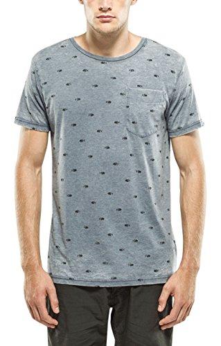 Petrol Industries T-Shirt SS R-Neck, Maglia a Maniche Corte Uomo, 540, L