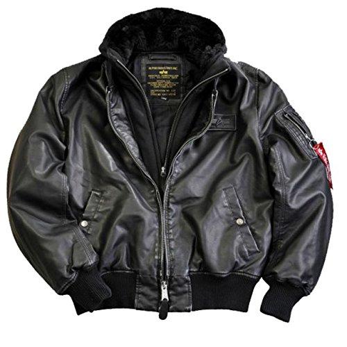 Alpha Ind. Jacke MA-1 D-Tec FL – black/black s-3XL günstig kaufen