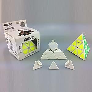 MoYu Pyraminx White Base new Smooth Puzzle
