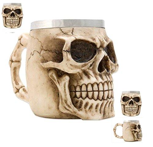 New! Skull Coffee Mug Beer Stein (Skull Mug Coffee compare prices)