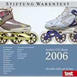 test 2006  Archiv. CD-ROM für Win 98 SE, ME, NT, 2000, XP; Mac und Linux.