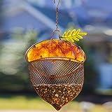 Harvest Shimmer Acorn Bird Feeder