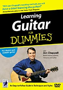 Learning Guitar For Dummies DVD