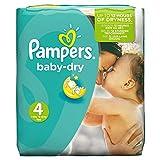 Pampers Baby Dry Windeln, Gr.4 (Maxi) 7-18�kg, Monatsbox, 174 St�ck Bild
