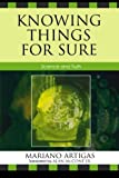 img - for Knowing Things for Sure: Science and Truth book / textbook / text book