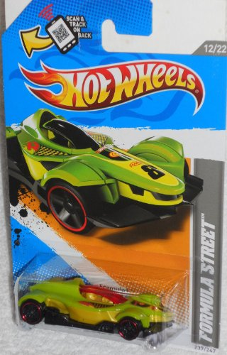 Hot Wheels - HW Code Cars '12 - Formula Street - 12/22 , 237/247 [Scale 1:64]