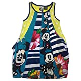 Desigual Minnie Mouse Stripe Bubble Tank Dress