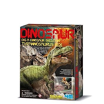 Dam - 4M - 5603221 - Construction et Maquette - Animaux - Kidzlabs - deterre-Ton-Dinosaure - Tyrannosaurus Rex