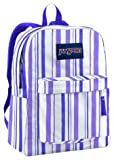 JanSport Superbreak Backpack (White/Purple Sky Endless Summer)