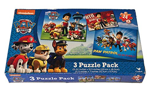 Paw Patrol Jigsaw Puzzle 3-Pack
