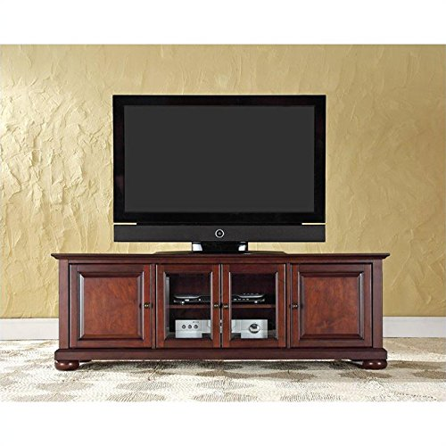 Crosley Furniture Alexandria 60-Inch Low Profile TV Stand, Vintage Mahogany photo