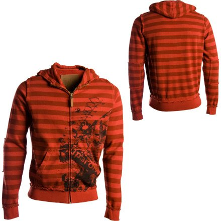 Dragon Street Scene Full-Zip Hooded Sweatshirt - Men's