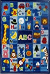 Fun Rugs FT-95 3958 Fun Time Letters…