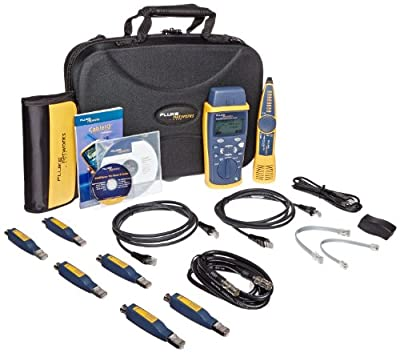 Fluke Networks LRAT2-CIQ-GSV LinkRunner AT 2000/CableIQ Gigabit Service Kit