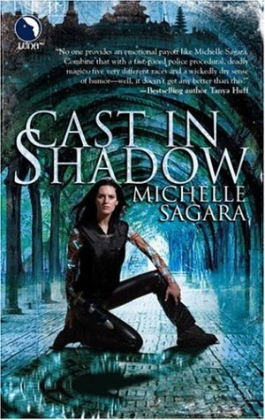 Cover of Cast in Shadow (The Chronicles of Elantra, Book 1)