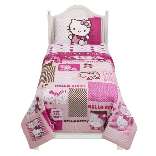 Hello Kitty Comforter – Twin