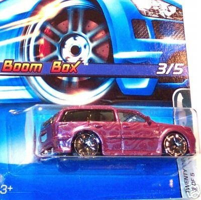 Mattel Hot Wheels 2005 1:64 Scale Purple Slammed Boom Box Blazer Twenty + 3/5 Die Cast Car #118