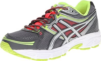 ASICS Women's GEL-Contend Running Shoe,Titanium/Lightning/Flash Yellow,8.5 M US