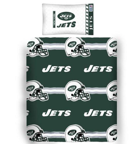 Nfl New York Jets Bear Pillowcase Set Football Blanket front-908990