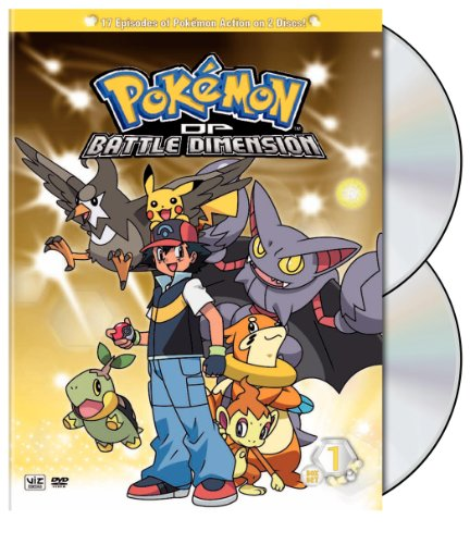 Pokemon: Diamond & Pearl Battle Dimension 1&2 [DVD] [2009] [Region 1] [US Import] [NTSC]