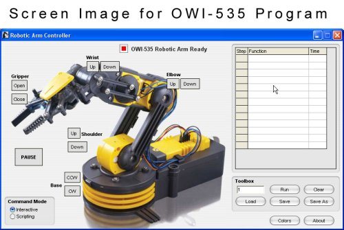USB Controller for OWI-535 & OWI-007 Robotic