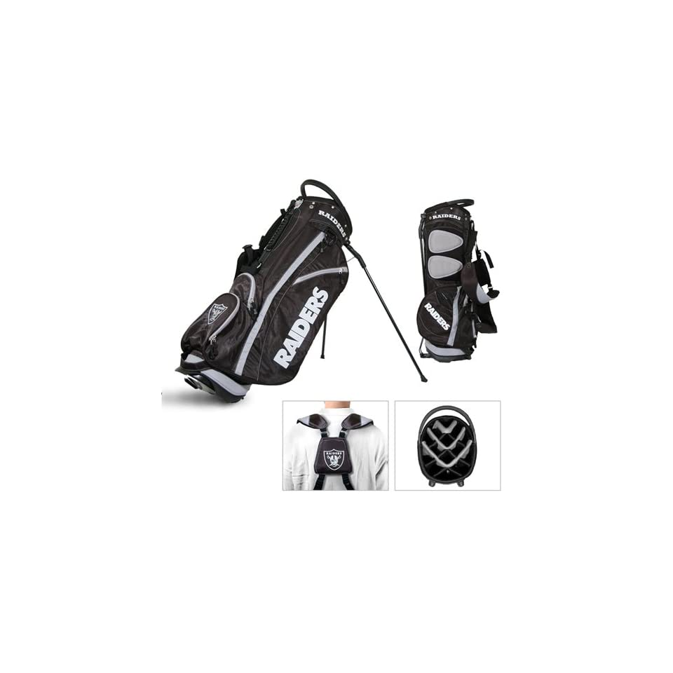 BSS   Oakland Raiders NFL Stand Bag   14 way Fairway