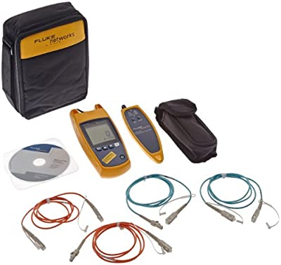 Fluke Networks FTS900 Fiber QuickMap Troubleshooter with Visual Fault Locator