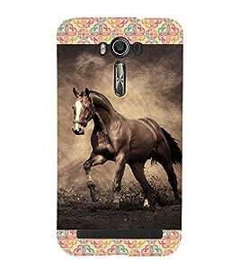 ifasho Designer Phone Back Case Cover Asus Zenfone 2 Laser ZE601KL (6 Inches) ( Indian Lady Half Face )