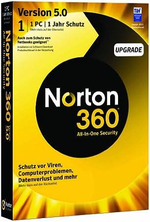 NORTON 360 V5.0 1 PC - Upgrade - deutsch
