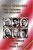img - for Great Speeches for Criticism and Analysis, Fourth Edition book / textbook / text book