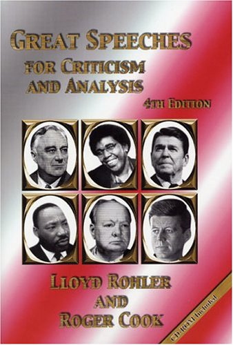 Great Speeches for Criticism and Analysis, Fourth Edition