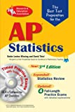 Best Test Prep AP Statistics with CD-ROM (Advanced Placement (AP) Test Preparation) (073860271X) by Levine-Wissing, Robin