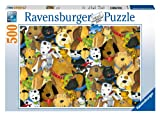 Quirky Dogs Jigsaw Puzzle, 500-Piece