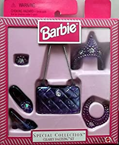 Barbie Special Collection Clearly Dazzling Set 1998